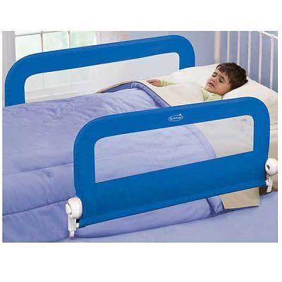 Set 2 protectii pliabile pentru pat Blue
