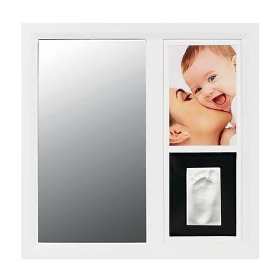 Baby Art Rama cu oglinda pentru mulaj si fotografie Black