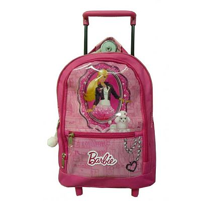 Ghiozdan troller Barbie