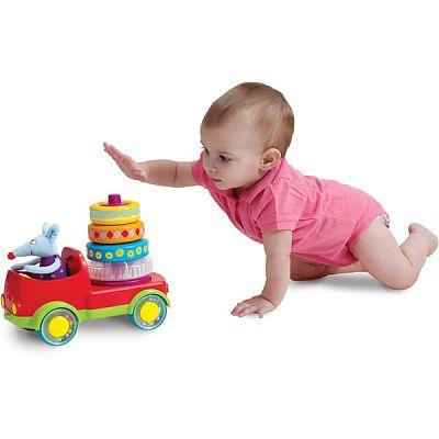 Jucarie multifunctionala - Camionul piramida de la Taf Toys