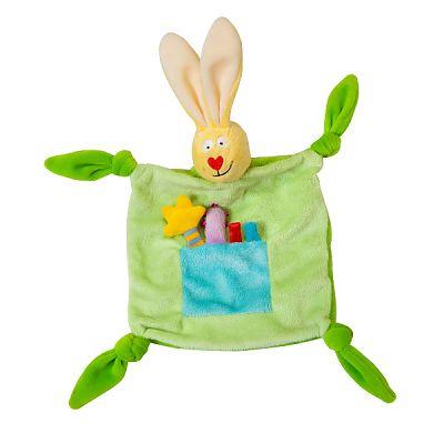 Jucarie/ paturica - Iepurasul Tup-Tup Green de la Taf Toys