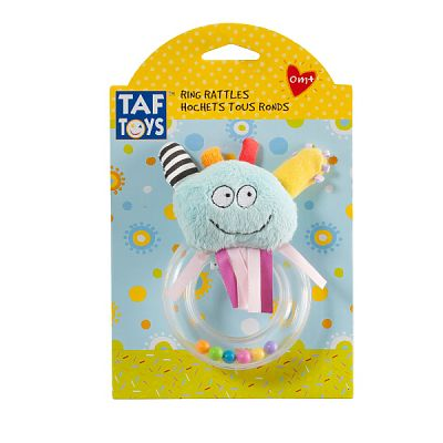Taf Toys Inel gingival - Simpaticul Blue