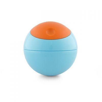 Caserola sfera Snack Ball, Orange/ Bleu de la boon