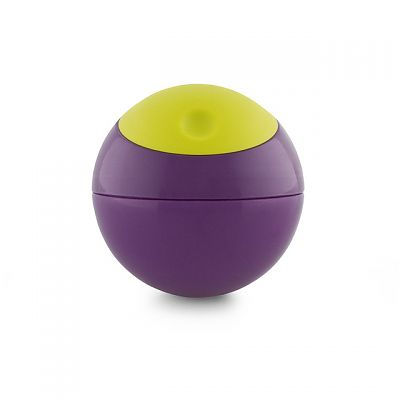 Caserola sfera Snack Ball, Green/Purple de la boon