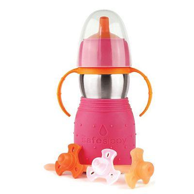 Kid Basix Canuta Safe Sippy 2 - 330 ml Roz
