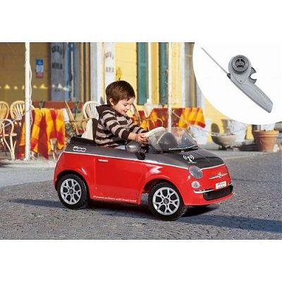 Masinuta Fiat 500 Red/Grey