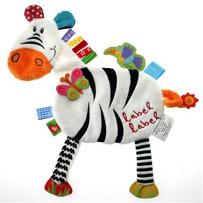 Minipaturica de somn si joaca  Zebra de la LABEL LABEL