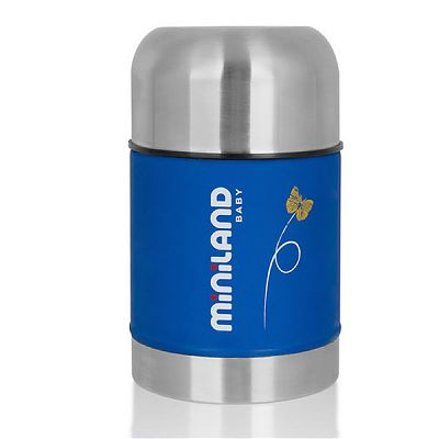 Termos mancare solida Miniland Soft 600 ml Blue