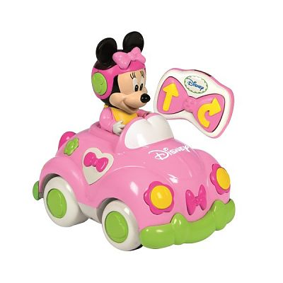 Masinuta cu telecomanda Minnie Mouse de la CLEMENTONI Baby