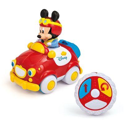 CLEMENTONI Baby Masinuta cu telecomanda Mickey Mouse