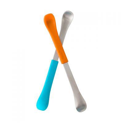 SWAP lingurita 2-in-1 albastru+portocaliu