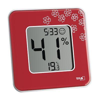 Termometru si Higrometru digital de camera STYLE RED de la TFA