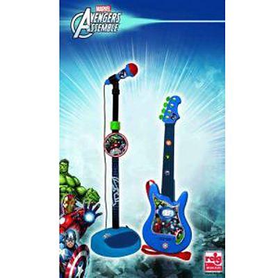 Set chitara si microfon Avengers de la Reig Musicales