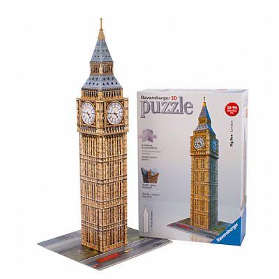 Ravensburger Puzzle 3D Big Ben, 216 Piese