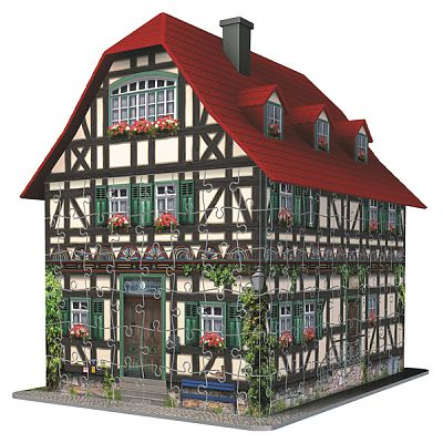 Puzzle 3D  Casa Medievala 216 Piese de la Ravensburger