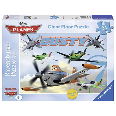 Ravensburger Puzzle Neinfricatul Dusty, 24 Piese