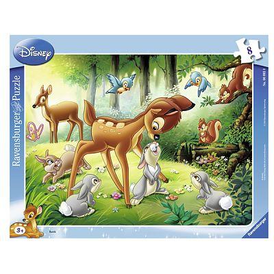 Puzzle Bambi, 8 piese de la Ravensburger