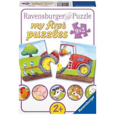 Ravensburger Puzzle la Ferma 9 x 2 piese