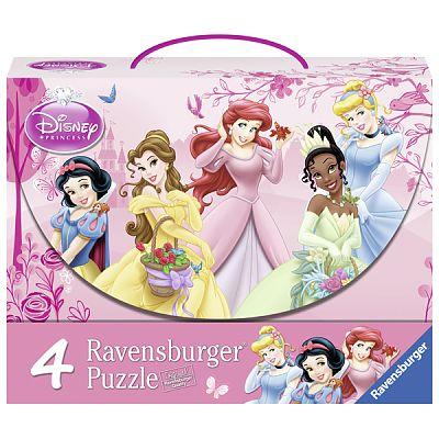 Ravensburger Puzzle Printesele Disney, 2 x 12 pcs