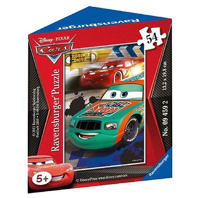 MiniPuzzle Disney Cars, 54 piese de la Ravensburger