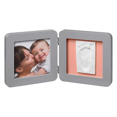 Rama - Print Frame Grey/Pinka