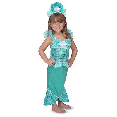 Costum de carnaval Sirena de la Melissa&Doug