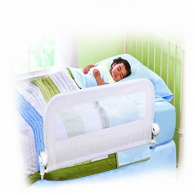 Protectie pliabila pentru pat White