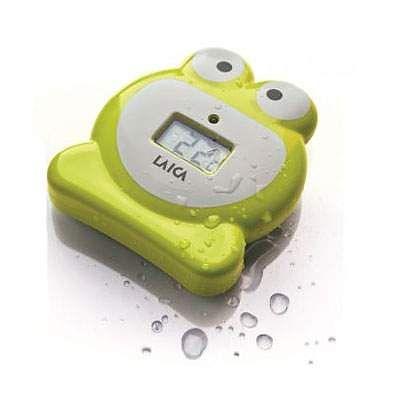 Termometru de baie verde