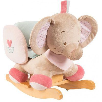 Balansoar cu protectii laterale Elefantelul Rose