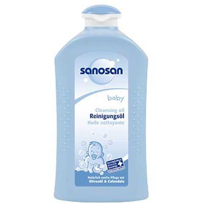 Ulei de curatire pentru bebelusi - cu ulei de masline si musetel 500ml de la Sanosan