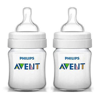 PHILIPS AVENT Set 2 biberoane PP Classic, + 0 luni, 125 ml