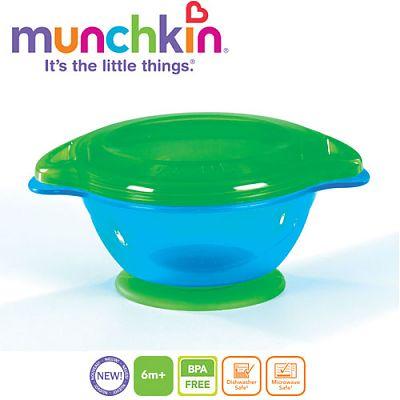 Castron Click Lock cu ventuza Verde de la Munchkin
