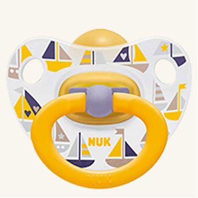 Classic Happy Kids Suzeta din latex mar.2 (6-18 luni) de la Nuk