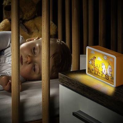 Lampa de veghe cu led si senzor de lumina BabyLight Basic