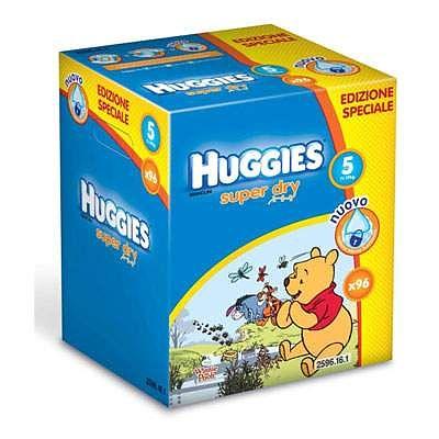 Huggies Scutece copii nr. 5 SuperDry, 11-19 kg, 96 bucati,