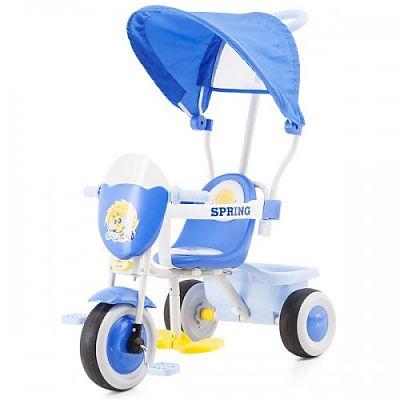 Tricicleta cu copertina Spring BLUE