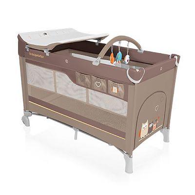 Baby Design Patut pliant cu 2 nivele Dream 09 beige  2016