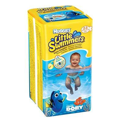 Chilotei impermeabili copii LITTLE SWIMMERS-XS-(3-7kg) de la Huggies
