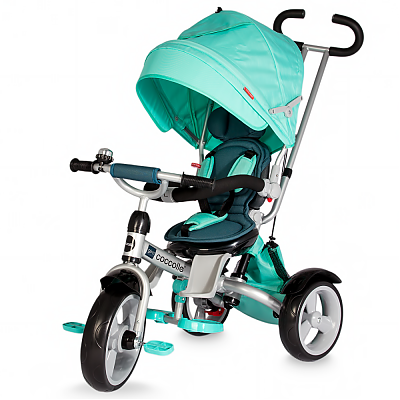 DHS Baby Tricicleta multifunctionala COCCOLLE GIRO Verde