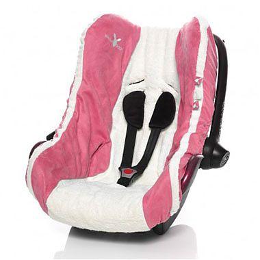 Wallaboo Husa scaun auto Grupa 0+ Pink