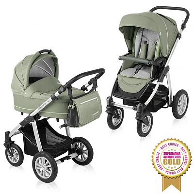 Carucior Multifunctional 2 in 1 Lupo Comfort 04 Green 2015