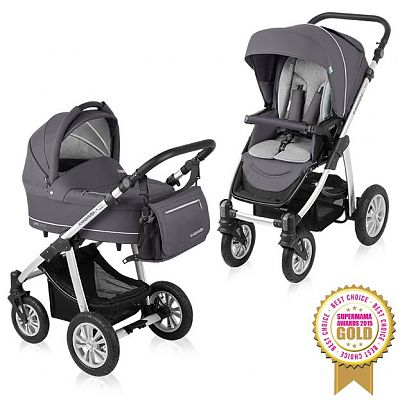 Carucior Multifunctional 2 in 1 Lupo Comfort 07 Graphite 2015