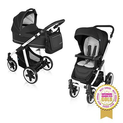 Baby Design Carucior Multifunctional 2 in 1 Lupo Comfort 10 Black 2016
