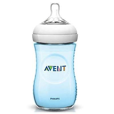 PHILIPS AVENT Biberon Natural PP albastru, 260 ml