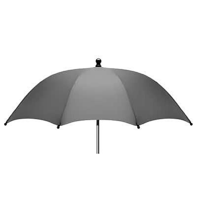 Umbrela pentru carucior 70cm UV 50+, Gri