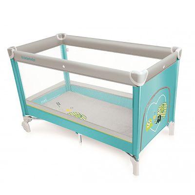 Baby Design Patut pliant Simple 05 turquoise 2017