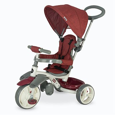 DHS Baby Tricicleta multifunctionala Coccolle Evo Visinie
