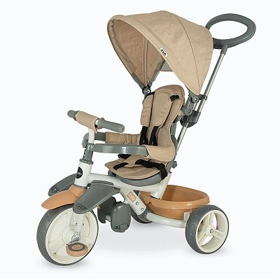 DHS Baby Tricicleta multifunctionala Coccolle Evo BEJ