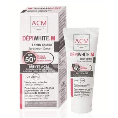 ACM Crema de protectie Depiwhite M SPF 50+, 40 ml,