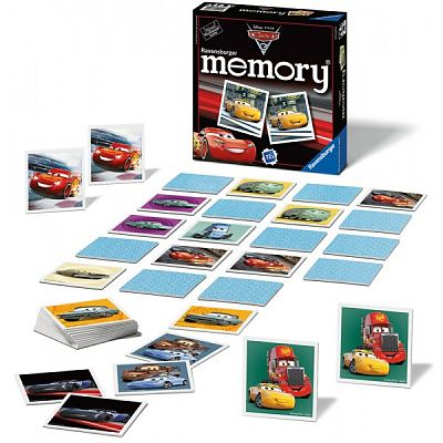 Ravensburger Jocul Memoriei - Disney Cars 2